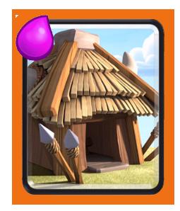 クラロワ「ゴブリンの小屋」