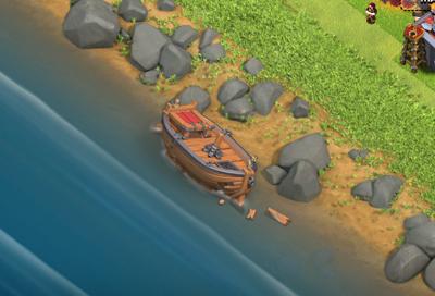 『クラクラ』2017年5月大型アップデート「沈没船」