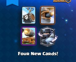 『クラロワ』アプデ速報!新たに4種類の新カードが追加